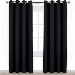 Nicetown Blackout Curtain Panels 84 Inches - Light Reducing