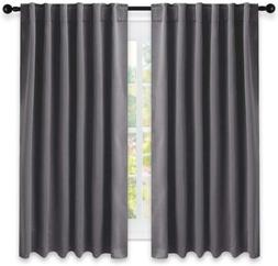 Nicetown Blackout Curtain Panels For Living Room -  52X63 In