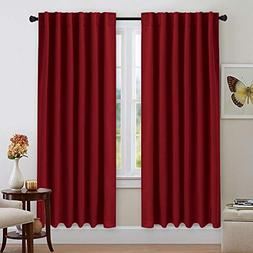 NICETOWN Blackout Curtain Panels for Girls  52W x 72L, 2 Pan