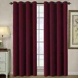 Blackout Curtain Thermal Insulated Room Darkening for Bedroo