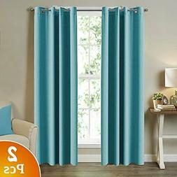 Blackout Curtains 84 inch long 2 Panels Set for Bedroom