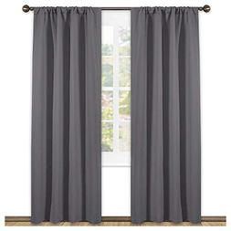NICETOWN Blackout Curtains 84 for Bedroom - Three Pass Micro
