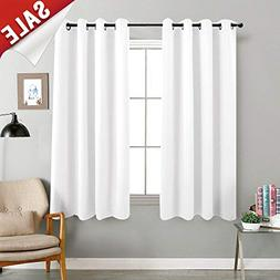 jinchan 100% Blackout Curtains for Bedroom Thermal Insulated