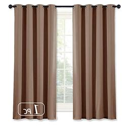 NICETOWN Blackout Curtains 63 Inch Length -  Thermal Insulat