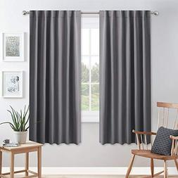 PONY DANCE Blackout Curtains for Bedroom - 72 inches Length