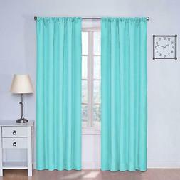 ECLIPSE Blackout Curtains for Bedroom - Kendall Insulated Da