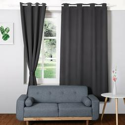 HOMFY Blackout Curtains for Bedroom, Thermal Insulated Panel