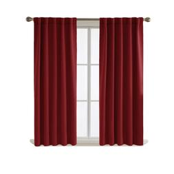 Deconovo Blackout Curtains for Bedroom Thermal Insulated Rod