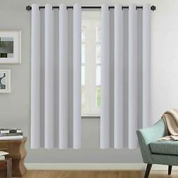"Blackout Curtains Length 63""/72""/84""/96""/108""Darkening Therm"