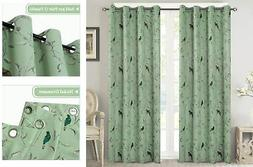 Blackout Curtains Noise Reducing Thermal Insulated Drapes fo