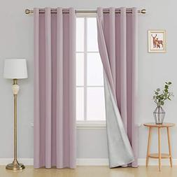 Deconovo Blackout Curtains Room Darkening Thermal Insulated