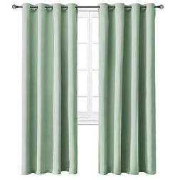 WONTEX Blackout Curtains Room Darkening Thermal Insulated wi