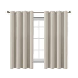Blackout Curtains Room Darkening Thermal Insulated Grommet W