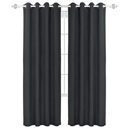 HOMEIDEAS Blackout Curtains Room Darkening Thermal Insulated