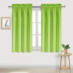 DWCN Blackout Curtains Room Darkening Thermal Insulated Wind