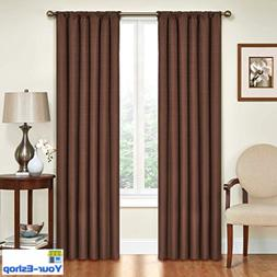 Eclipse Blackout Curtains Thermal Curtain Single Panel 42 x