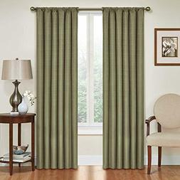 Blackout Curtains Thermal Curtain Single Panel Rod Pocket Wi
