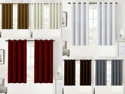 Blackout Curtains Thermal Insulated Multi Color