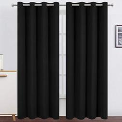 Lemomo Blackout Curtains Thermal Insulated Room Darkening Cu