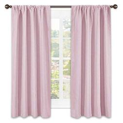 NICETOWN Room Darkening Curtains for Girls Room - Nursery Es