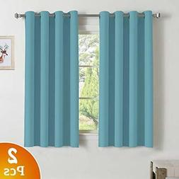 Blackout Curtains Window Treatment Thermal Insulated Drape f