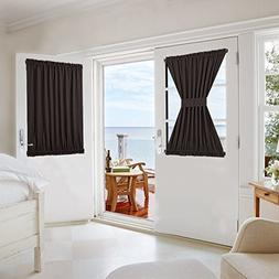 NICETOWN Blackout Door Curtain for Privacy - Functional Ther