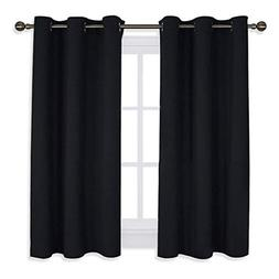 NICETOWN Blackout Draperies Window Curtain Panels Autumn/Win