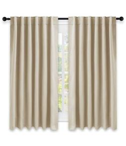 blackout drapes darkening room thermal insulated eyelet