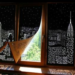 Blackout HoleRoll Curtains With Holes Incredible City Design