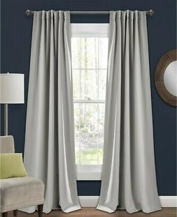 """Lush Decor Blackout Insulated 52"""" x 95"""" Blackout Curtain Two"""