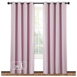NICETOWN Blackout Room Darkening Curtain Panel -  Thermal In