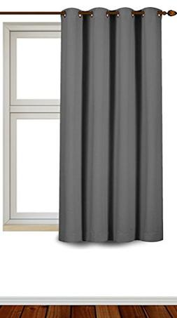 Utopia Bedding Blackout Room Darkening Curtains Window Panel