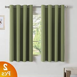 Turquoize Bedroom Curtains Blackout Draperies - Noise Reduci