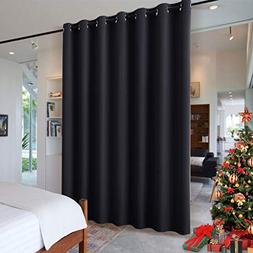 RYB HOME Blackout Thermal Insulated Blind Curtains, Noise Re