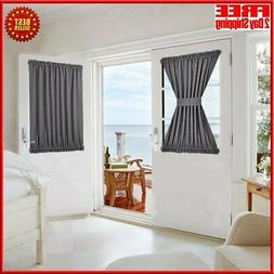 Blackout Thermal Insulated Curtain Panel For Patio French Do