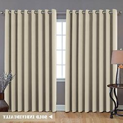 Blackout Thermal Insulated Room Darkening Extra Long Curtain