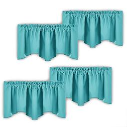 NICETOWN Blackout Valance Curtains for Window - Energy Effic