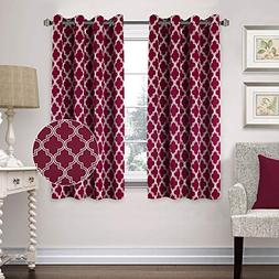 Flamingo P Blackout Window Curtain Panel Grommet Top Drapes