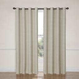 Eclipse Bobbi Grommet Blackout Window Curtain Panel, 95-Inch