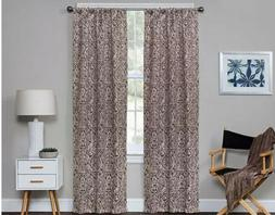 Eclipse Bryton Blackout Window Curtain Panel, Espresso