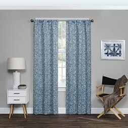 Eclipse Bryton Blackout Window Curtain Panel, Ocean