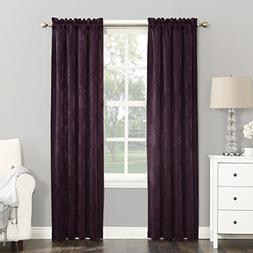 "*Sun Zero Cassara Rod-Pocket Blackout Curtain Panel 52""W x 6"