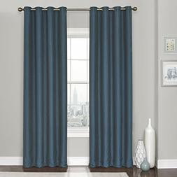 Eclipse Clara Thermaweave Blackout Window Curtain Panel, 52x