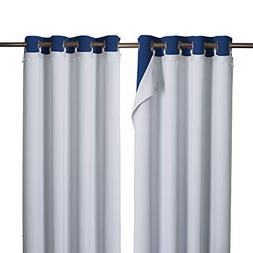 NICETOWN Cold Heat Light Noise Blocking Blackout Curtain Lin
