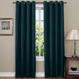 Sun Zero Collins Crushed Solid Room Darkening Woven Curtain