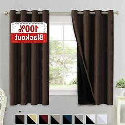 Flamingo P Complete Blackout Shades Large Window Curtain Pan