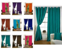 Curtain With Blackout Lining For Long Door Window Curtain Fo