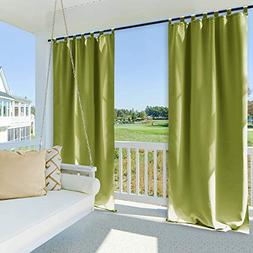 NICETOWN Outdoor Drape and Curtain for Pergola - Window Trea