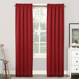Sun Zero Easton Blackout Energy Efficient Rod Pocket Curtain