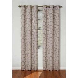 Eclipse 42x63, Linen,zodiac Energy-efficient Curtain Panel,